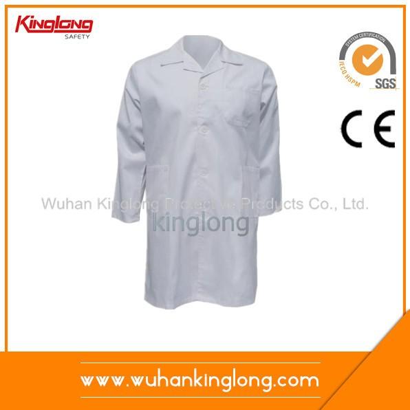 White color good workmanship lab coat