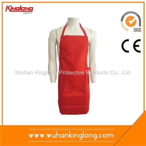 Solid Color Cook Wear TC Long Apron