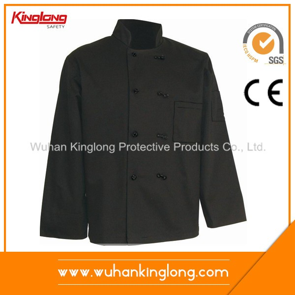 Durable Long Sleeve Chef Clothing Chef Coat