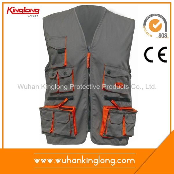 High quality man work power vest