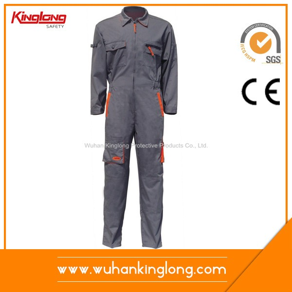 High quality orange and grey power coveralls