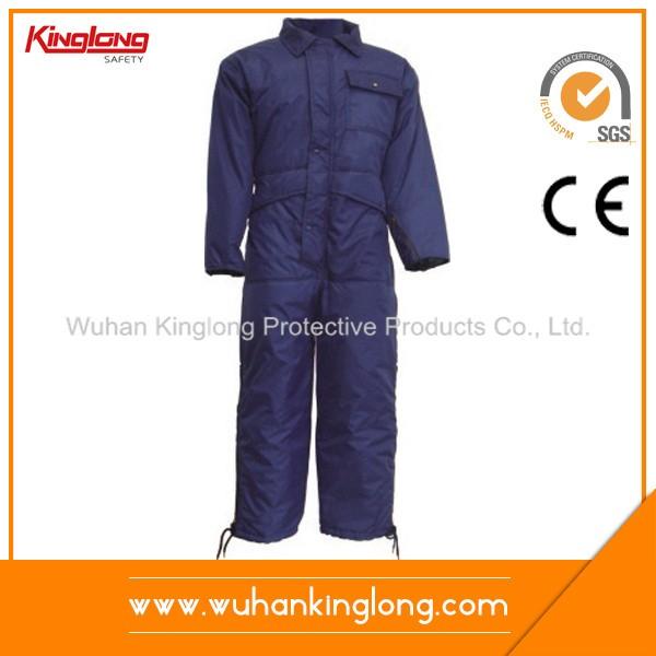 Waterproof 100%Polyester Padding Winter Coverlls