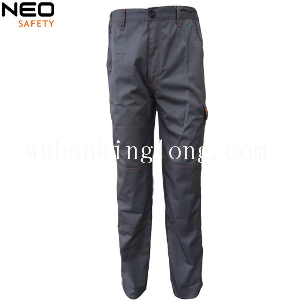 100% cotton cargo pants with color combination for men