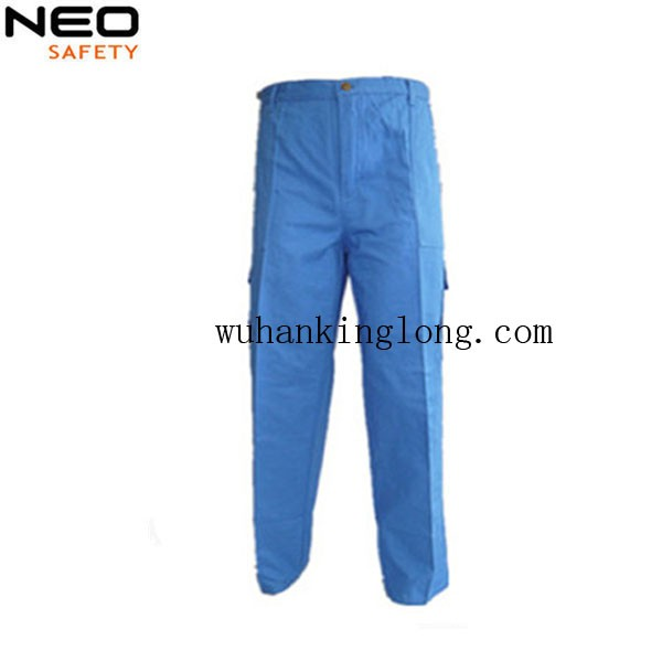 100% cotton mens pants for middle east multi pockets cargo trousers