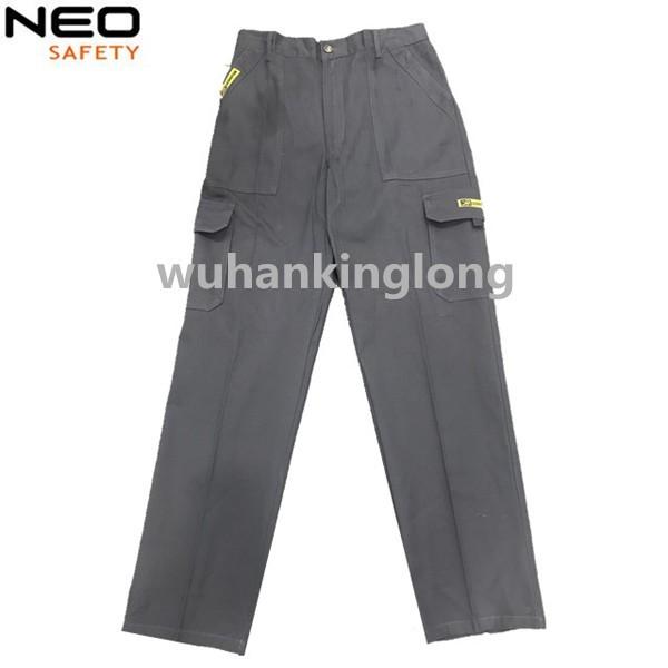 100%Cotton 240G Regular Twill Elastic Waist Cargo Pants