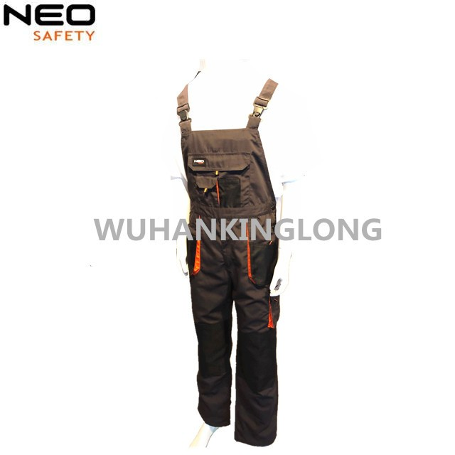 Abrasion resistant workwear Canvas and Oxford fabric with men's Bibpants
