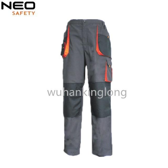 Custom Mens Canvas Regular Twill Multi Pocket Cargo Pant with Knee Pad