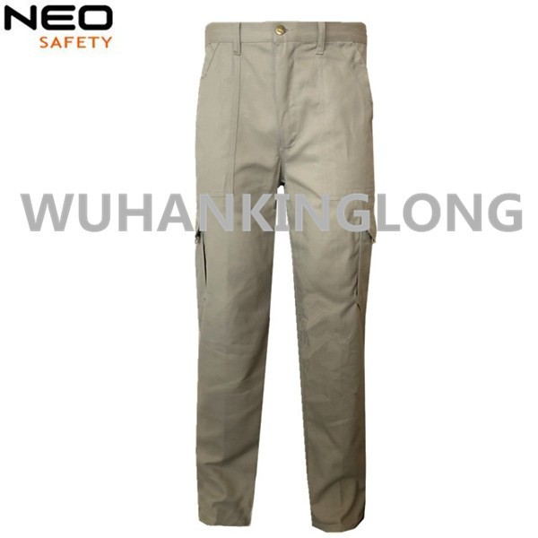 Customized European Style Men Work Cargo Pants With Knee Pad