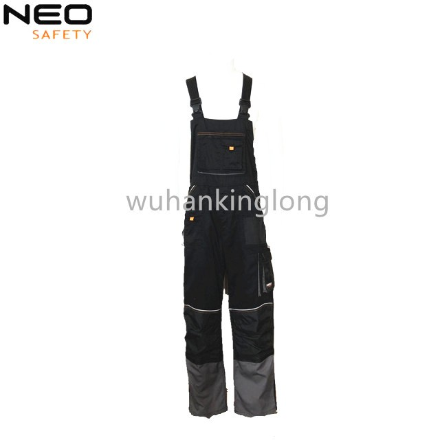 Functional uniform polycotton bibpants new style workwear