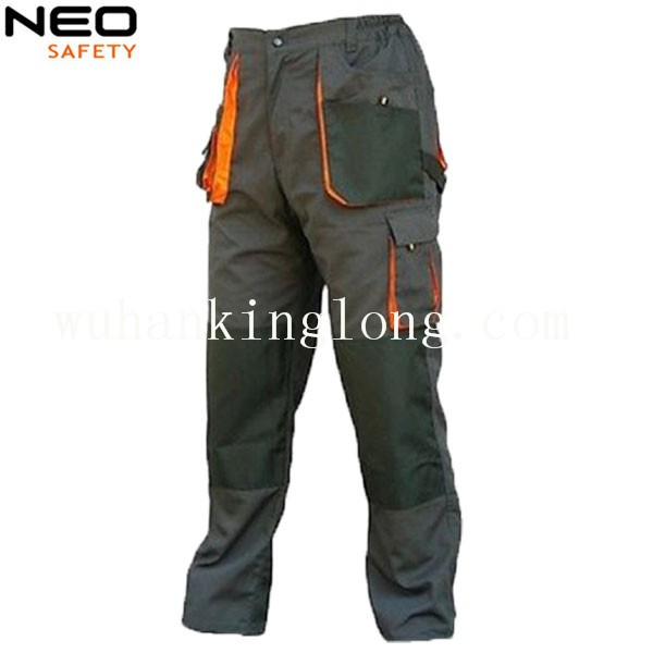 Men Workers Workwear Work Pant Trousers With Knee Pad