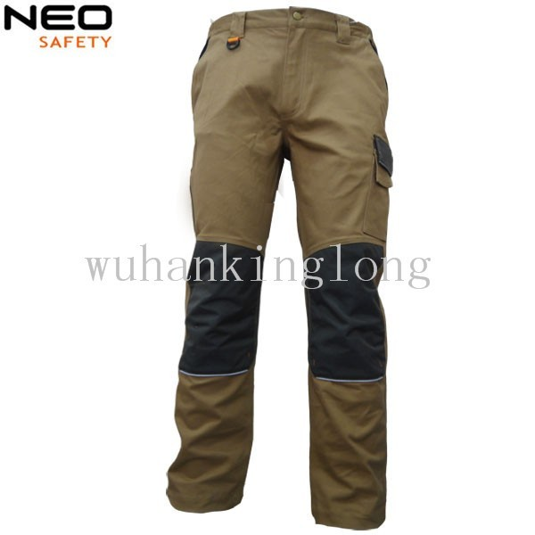 Mens Safety Protection Cordura Knee Pads Work Pants
