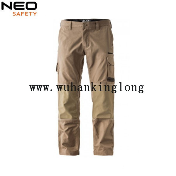 Mens Work Pants with knee patchs workwear work Trousers