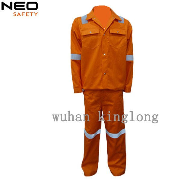 anti-static & fire retardant jacket and pants for industries FR clothing