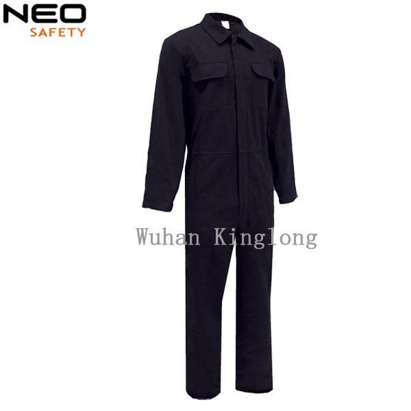 100% cotton cheapest navy blue workwear coverall with price