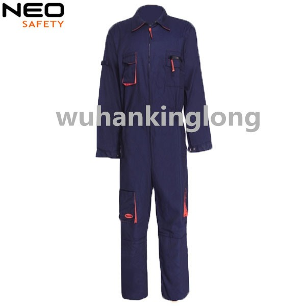 100% cotton working coverall safety man overall cotton coverall