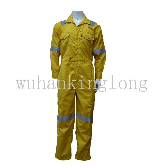 100%cotton safety nomex fire retardant coverall with tripe