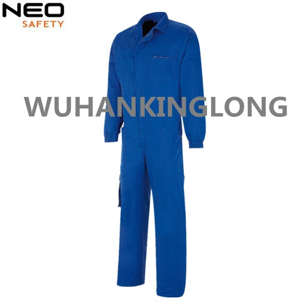 100%cotton twill fabric royal blue work overall