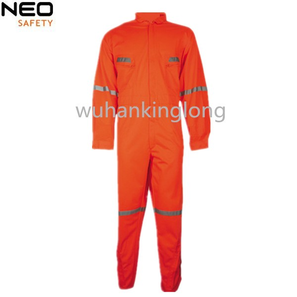 Mens high quality work clothes workwear uniforms reflective coveralls overall