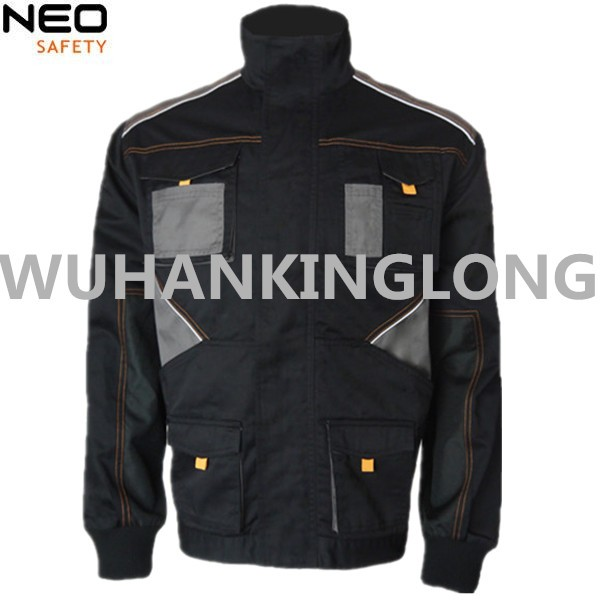 Previaling Style Safety Jacket With Multi Pockets