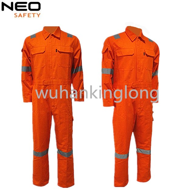 Reflective tape 100%cotton best price functional coverall