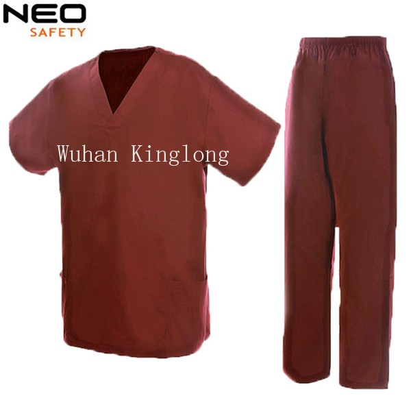 2PCS Nurse Uniform Workwear Shorts and Pants