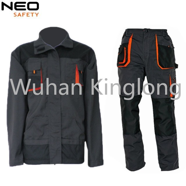 Men's Working Suit With Multi Pockets Jacket And Pants