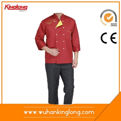 Manufacture chef jacket restuarant coat kitchenwear for man and women