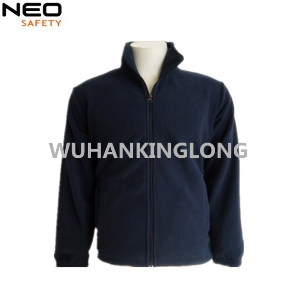 100%polyester Long zipper Cold-prevent Polar Fleece Jacket