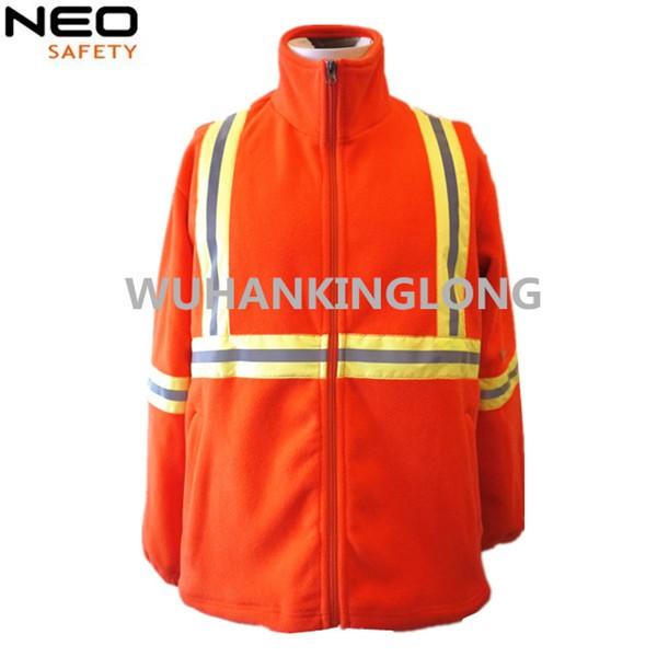 Cheap Mens Gray Polar Fleece Jacket