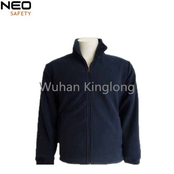 Simple design top quality mens working polar fleece jacket