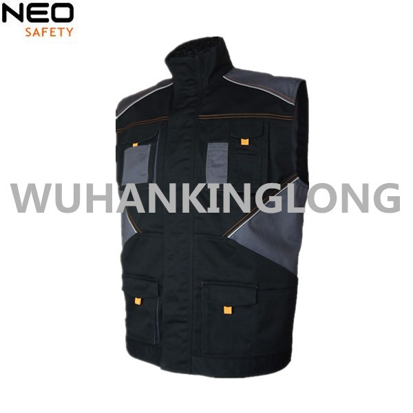 Previaling Style Safety Vest With Multi Pockets