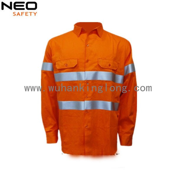 Australia Hot Sell Mens Safety Hi Vis Work Shirt
