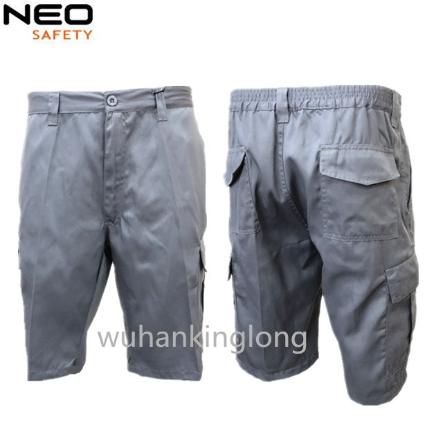 Summer pants working shorts multi pockets made in China