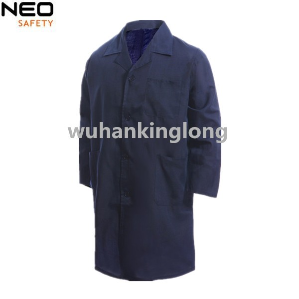 100% Twill Warehouse Work Uniform Long Coat