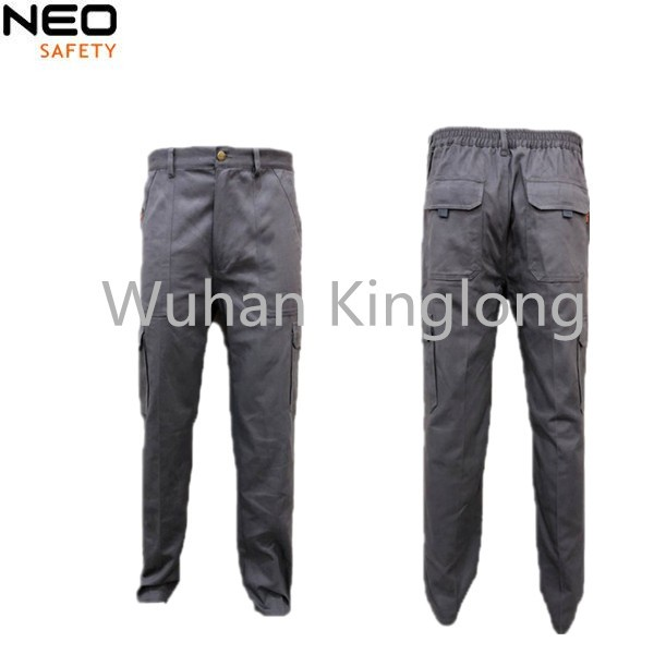 100%Cotton 6 pockets Cargo Pants Safety Wear