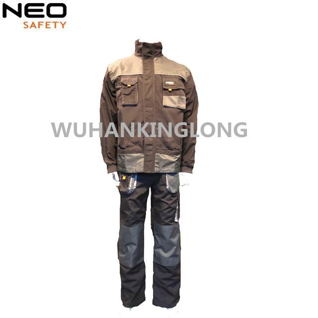 2 pcs Triple stitched uniform canvas with jacket and pants