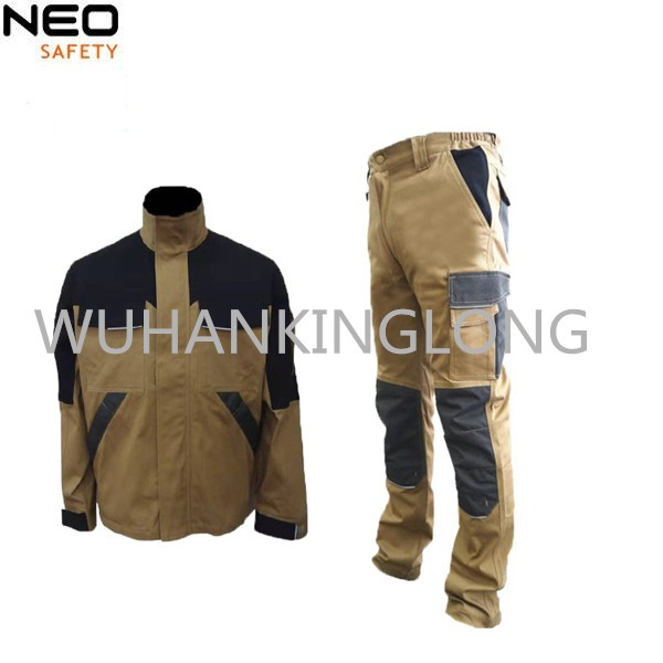 97%Cotton 3%Spandex 270GSM High Quality Workwear for men