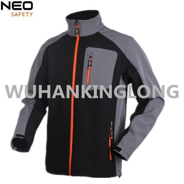 Fashion and High Quality Softshell Jacket with Detachable Sleeves