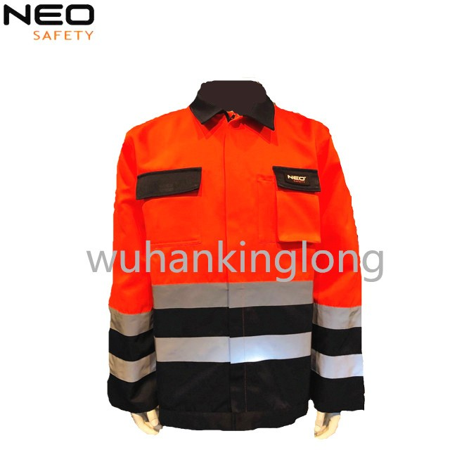 HIVI Orange Reflective Workwear new style jacket