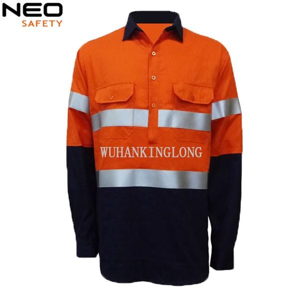 Hi Vis Reflective Workwear Jacket for Men