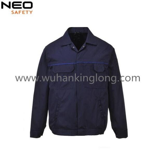 Mens Work Safety Jacket 100%cotton  Workwear Jacket