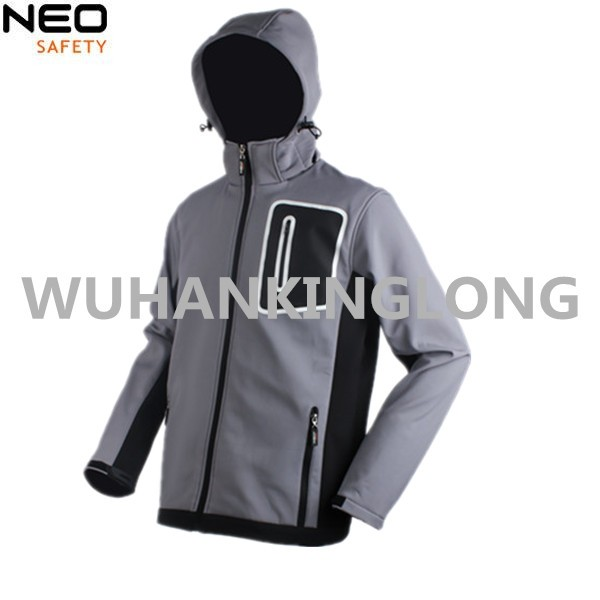 Previaling Style Softshell Jacket with Detachable Sleeves For Men