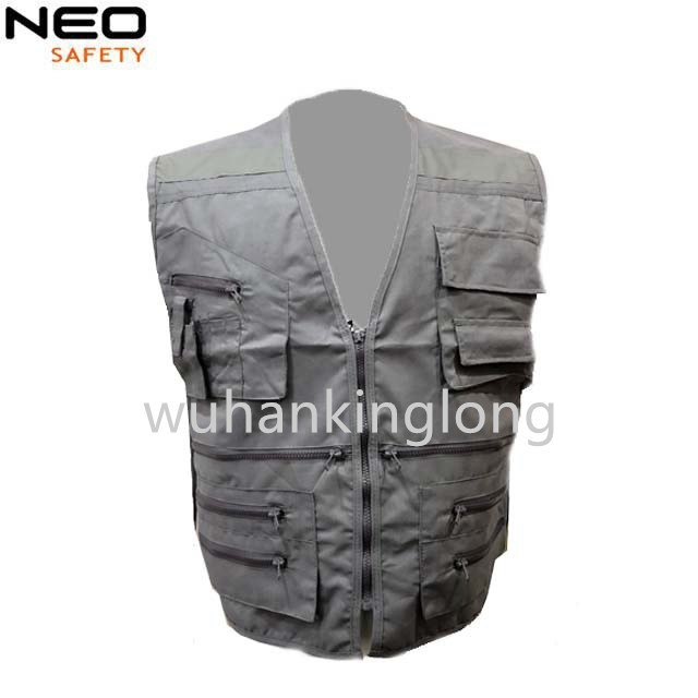 Wholes reflective band safety vest fishing vest