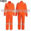 Cheap HIVI Orange Work Coverall