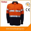 HIVI safety working jacket with reflective tapes
